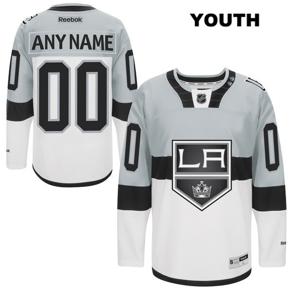 Customize Stitched Youth 2015 Stadium Series Los Angeles Kings Authentic Reebok customize White NHL Jersey - Customize Jersey