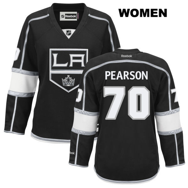 Home Tanner Pearson Womens Los Angeles Kings Stitched Authentic no. 70 Reebok Black NHL Jersey - Tanner Pearson Jersey